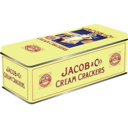 Jacobs Crackers Storage Tin - Rectangular